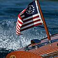 Stars And Stripes Ensign by Steven Lapkin