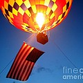 Stars And Stripes Glow by Paul Anderson