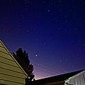 Stars Over Garage by Lars Lentz