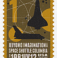 Starschips 01-poststamp - Spaceshuttle by Chungkong Art