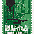 Starschips 34-poststamp - USS Enterprise by Chungkong Art