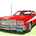 Starsky Hutch 1974 Ford Gran Torino Sport by Jack Pumphrey
