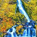 Starvation Creek Falls by Kaylee Mason
