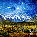 Stary Night Over Highlands by Celestial Images
