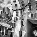 Stata Building 1 Bw by Jerry Fornarotto