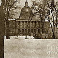 State Building Boston Massachusetts Circa 1900 by California Views Archives Mr Pat Hathaway Archives