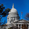 State Capitol In Madison Wi by Tommy Anderson