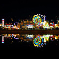 State Fair In Reflection by David Lee Thompson