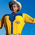 State Fair Of Texas Big Tex Yellow by Rospotte Photography
