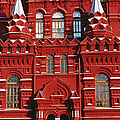 State History Museum On Red Square by Richard I'anson