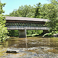 State Road Covered Bridge by Phyllis Taylor