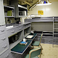 State Room Aboard Battleship Uss by Stocktrek Images