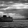 staten island ferry Andrew J Barberi heading towards staten island by Joe Fox