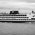 staten island ferry Andrew J Barberi new york usa by Joe Fox