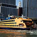 Staten Island Ferry by Carol Ailles