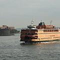 Staten Island Ferry by Christiane Schulze Art And Photography