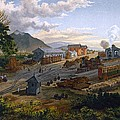 Station At Orizaba, 1878 by Casimior Castro