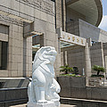 Statue At Shanghai Museum by John Shaw