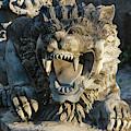 Statue At Tanah Lot by Keren Su