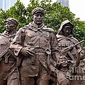 Statue Depicting Glory Of Chinese Communist Party Shanghai China by Imran Ahmed