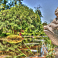 Statue In Brookgreen Gardens by Dale Powell