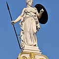 Statue Of Athena by George Atsametakis