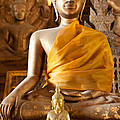 Statue Of Buddha A - Photography By Jo Ann Tomaselli by Jo Ann Tomaselli