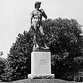Statue Of David Delaware Park Buffalo Ny by Bill Cannon