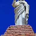 Statue Of Jesus by Shane Bechler