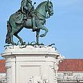 Statue Of King Jose I In Lisbon by Artur Bogacki