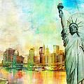 Statue Of Liberty by Catf