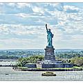 Statue Of Liberty by Joan  Minchak