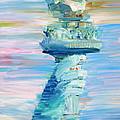 Statue Of Liberty - The Torch by Fabrizio Cassetta