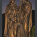Statue Of The Holy Family  by Barb Dalton