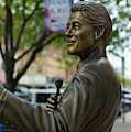 Statue Of Us President Bill Clinton by Panoramic Images