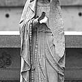 Statue Rosery Mary - Cemetery Sentry by Wayne Nielsen