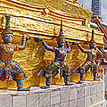 Statues At A Temple, Wat Phra Kaeo by Panoramic Images