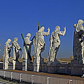 Statues On Facade Of St Peters by Tony Murtagh