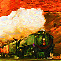Steam And Sandstone by Chuck Mountain