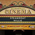 Steam Boat Willie Signage Main Street Disneyland 02 by Thomas Woolworth
