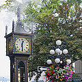 Steam Clock At Gastown In Vancouver Bc by Jit Lim