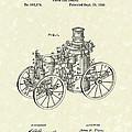Steam Engine 1896 Patent Art by Prior Art Design