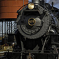 Steam Engine #475 Pulling Into The Strasburg Rr Station  01 by Mark Serfass