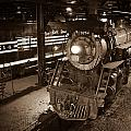 Steam Engine And Engineer by Robert Klemm