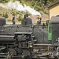 Steam Engine At Cumbres Pass by Tim Mulina