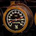 Steam Engine Gauge by Paul Freidlund
