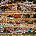 Steam Engine Linkage 2 by Richard J Cassato