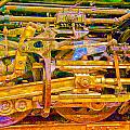 Steam Engine Linkage 3 by Richard J Cassato