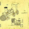 Steam Engine Patent 1869 by Bill Cannon