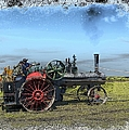Steam Farming by Bonfire Photography